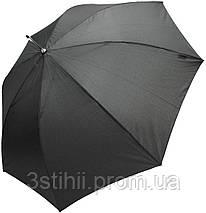 Зонт-трость Doppler 740167-3 полуавтомат Черный, фото 2