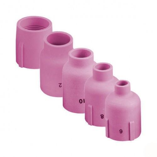 Керамическое сопло  № 8 (NW 12,5 мм / L 48,0 мм)  - ABITIG®GRIP/SRT 17, 26, 18,