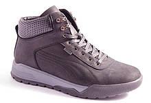 Ботинки мужские черные SLM 910/8-1