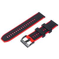 Ремешок силиконовый для Huawei GT2/ GT красный