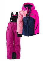 """Зимний лыжный термокомбинезон для девочек """"Графити"""", PIDILIDI, размер 116"""