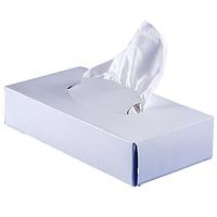 Салфетки косметические в картонном боксе, 21*21 см, 80 шт
