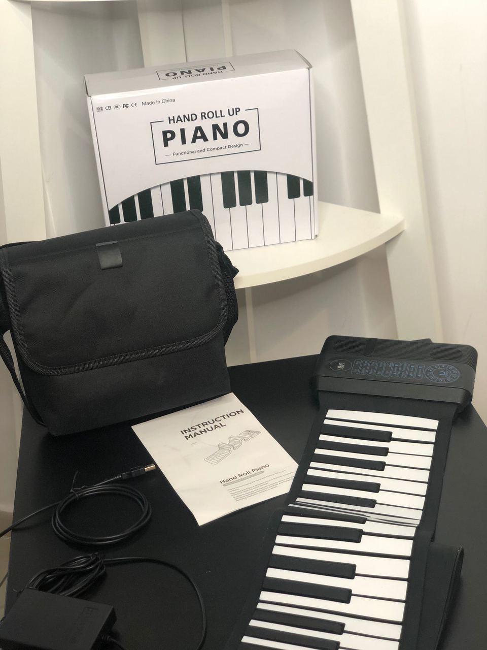 Гибкое пианино 61 клавиша