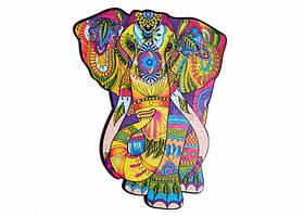 Деревянный фигурный пазл Великолепный Слон Wood trick