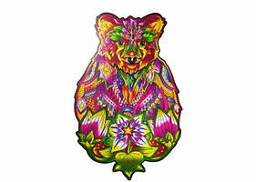 Пазл Деревянный фигурный Вдохновленный Медведь Wood trick