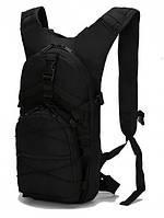 Рюкзак штурмовой тактический на 15 л,велосипедный слинг велорюкзак с системой M.O.L.L.E Черний ,рюкзак военный