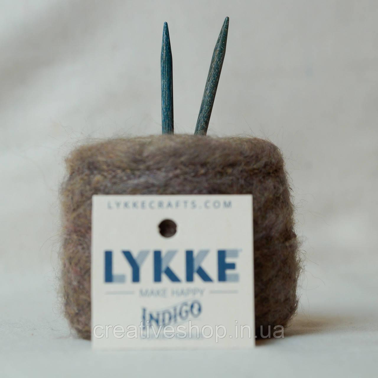 Съемные  стандартные спицы Lykke Indigo 7