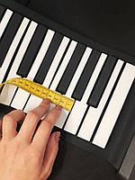 Гибкое пианино 88 клавиш с педалью