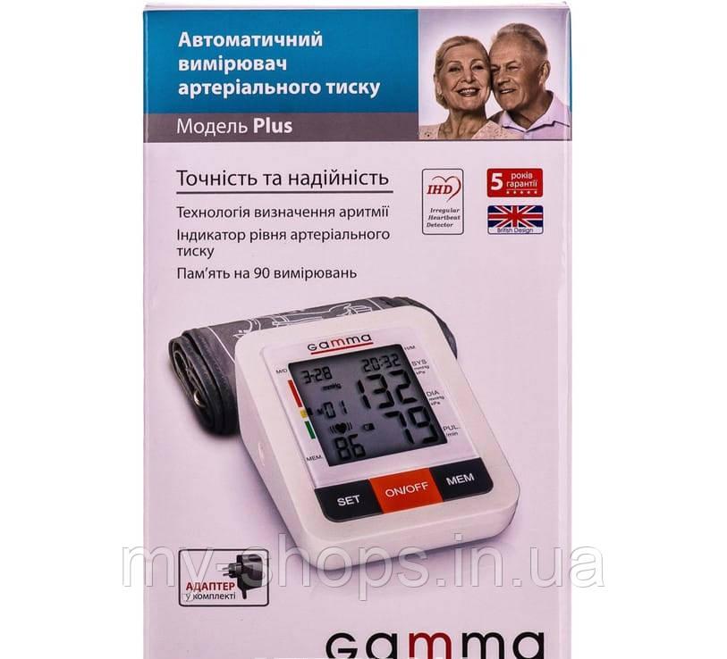 Измеритель (тонометр) артериального давления Gamma Plus автоматический