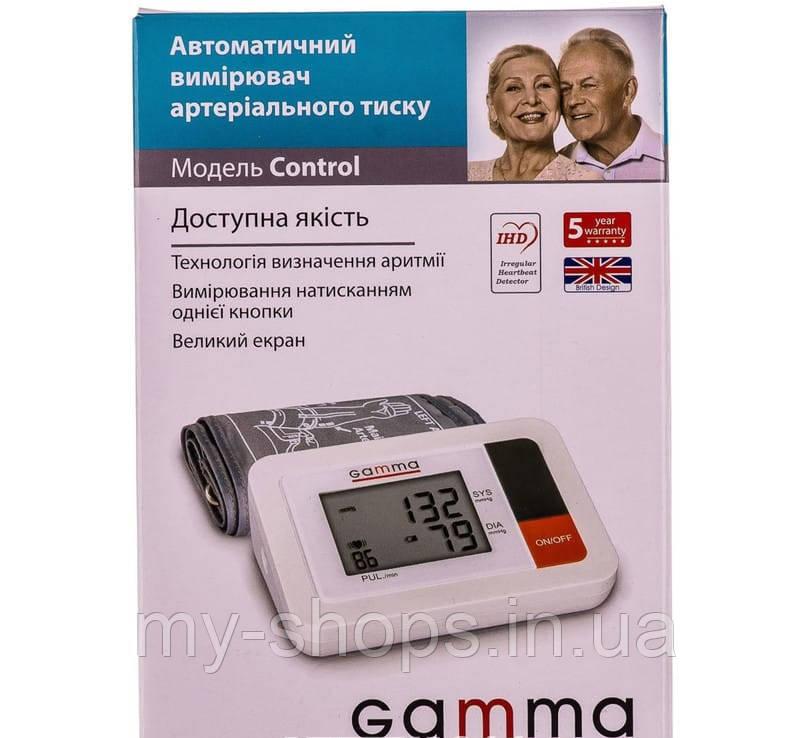 Измеритель (тонометр) артериального давления Gamma Control автоматический