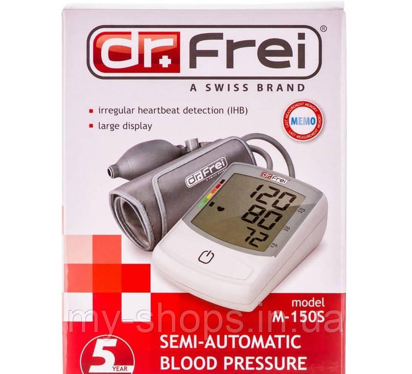 Измеритель (тонометр) артериального давления Dr.Frei (Доктор фрай) полуавтоматический модель M-150S