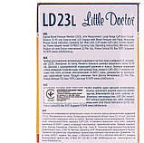 Измеритель (тонометр) артериального давления цифровой LITTLE DOCTOR модель LD-23L автоматический + адаптер, фото 2