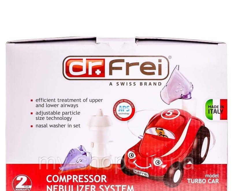 Ингалятор компрессорный Dr.Frei Turbo Car