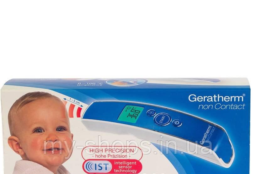 Термометр медицинский цифровой Geratherm Non-Contact инфракрасный бесконтактный