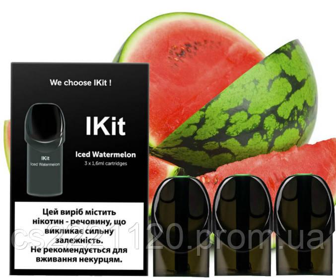 Картриджи IKit Iced Watermelon 30 mg (3 шт)