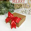 Коробка подарункова із крафт картону, 80х80х35 мм, фото 4