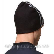 Шапка Essentials 3S 3 adidas W57531 черная, фото 2
