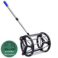 Теннисная машина-корзина для сбора теннисных мячей ODEAR 43 х 43 х 100 см Черный (BT-0463)