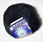 """Пряжа """"Mondial Prestigio"""", цвет - черный"""