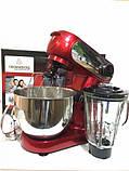 Кухонный комбайн 3в1 тестомес, мясорубка и блендер CROWNBERG Food Processor CB-3404, фото 3