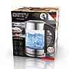 Электрочайник стеклянный Camry CR 1289  объемом 1,7 л с контролем температуры