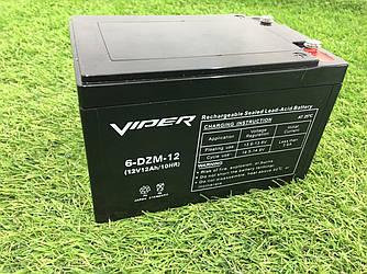 Тяговый свинцово-кислотный аккумулятор на 12v/14Ah необслуживаемый
