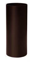 Труба водосточная D75 мм L=3м коричневая  RAINWAY