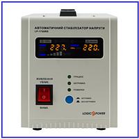 Стабилизатор LogicPower 1000Вт LP-1750RD релейный, фото 1