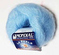 "Пряжа ""Mondial Prestigio"", цвет - голубой"