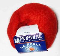 """Пряжа """"Mondial Prestigio"""",цвет - красный"""