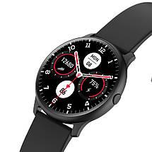 Умные смарт часы King Wear KW13 с AMOLED дисплеем и влагозащитой IP68 (Черный), фото 3