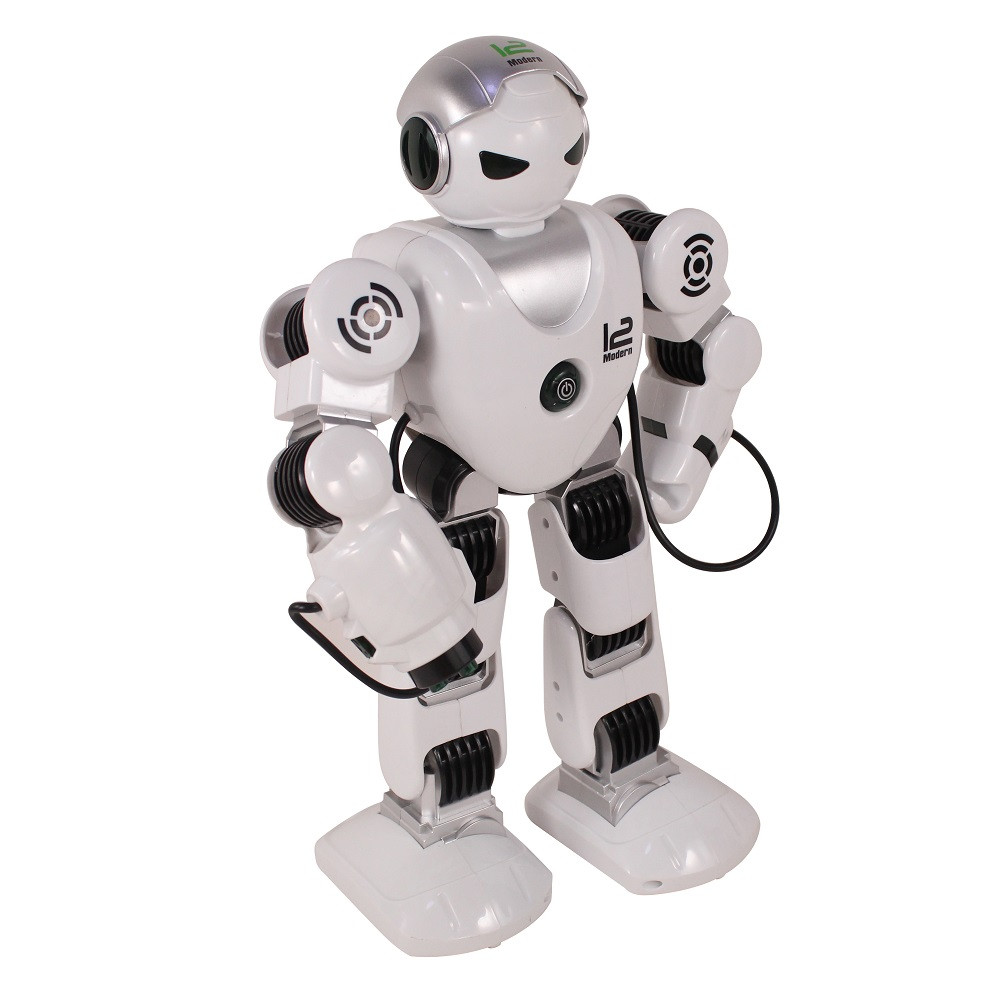 """Радіокерований робот """"Зет Альфа"""" стріляє присосками (Білий)"""