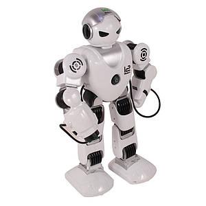 """Радиоуправляемый робот """"Зет Альфа"""" стреляет присосками (Белый)"""