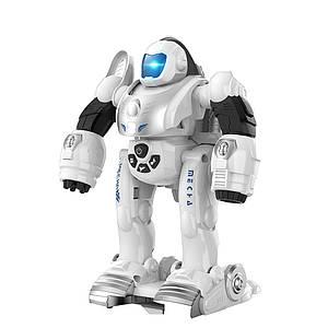 """Робот-трансформер с наручной катапультой """"Деформер"""" (Белый)"""