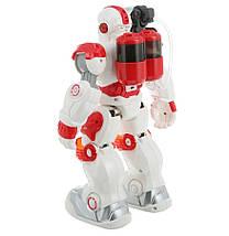 """Робот на радиоуправлении """"Альф"""" стреляет водой (Бело-красный), фото 2"""