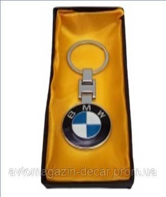 Брелок для ключів BMW метал/чорний у коробці 2198