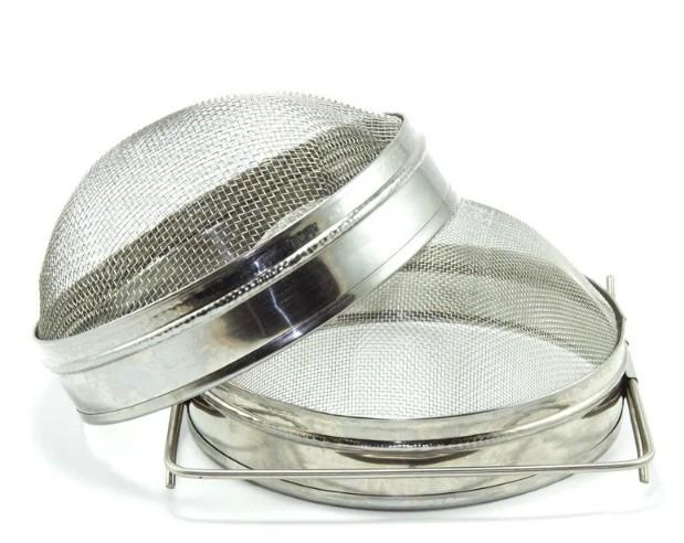 Фильтр для меда, двухсекционный d=200 сферический (оцинков. сталь)