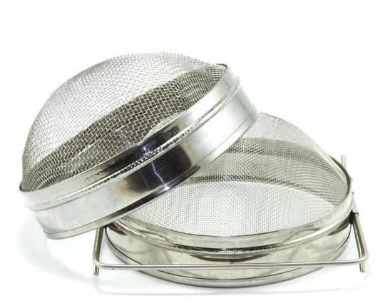 Фильтр для меда, двухсекционный d=200 сферический (оцинков. сталь), фото 2
