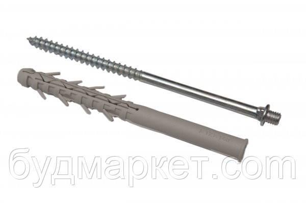 Винт-шуруп крепежный с дюбелем L=100 мм RAINWAY