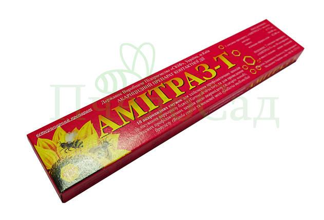 Амітраз-Т, 10 смужок (Україна), фото 2