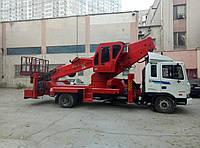 Автовышка рабочей высотой 40м на базе Hyundai HD120