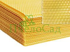 Вощина трутневая под рамку Дадан 1 кг (12-13 листов)