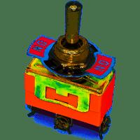 Тумблер KN3(C)-103A-R (ON-OFF-ON), 3pin, 10А, 250VAC (10A 125V 6A 250V)