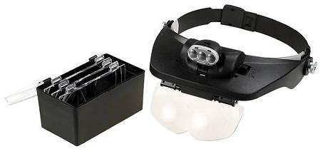 Бинокуляр MG81001-E с подсветкой LED, увеличение 1.2x-6x, фото 2