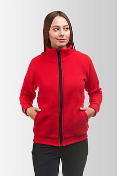 Флисовая кофта Женская 260 Красная
