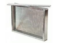 Изолятор сетчатый на 1 рамку Дадан (300 мм) оцинковка, фото 2