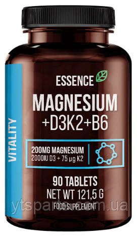 Magnesium + D3K2 + B6 Essence Sport Definition (90 таб.)