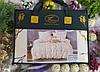 Постельное белье евро размер сатин-байка Koloco, фото 2