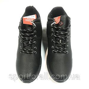 Мужские кожаные зимние ботинки Columbia р.40-45 К-2
