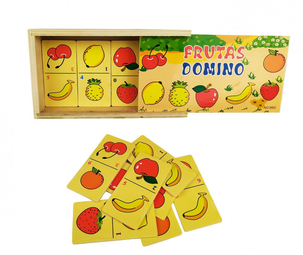 Деревянная игрушка Домино MD 2198 (Фрукты)